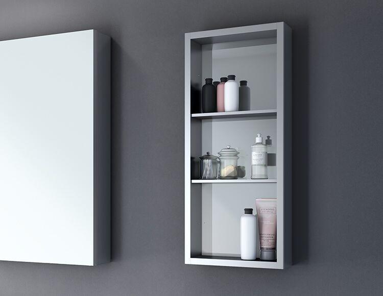 bathroom tower shelf medicine cabinet