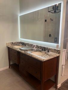 Fluerco large backlit mirror promotions
