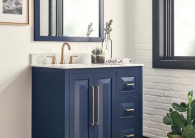 Image of Hardware Resources Blue vanities