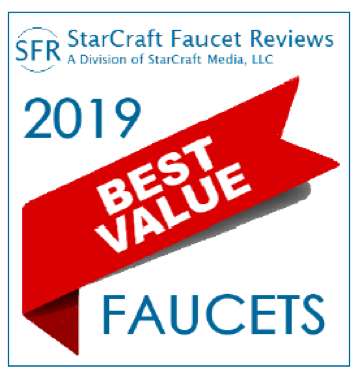 Best value faucets 2019 award winner