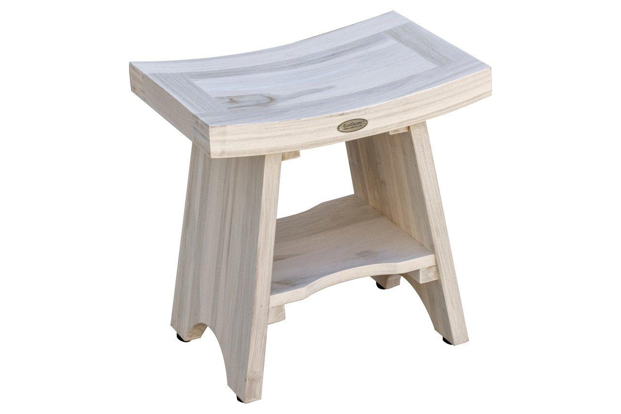image of DecoTeak shower bench on wright associates website wasalesreps.com