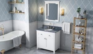 image of NEW Jeffrey Alexander Vanity Program bathroom vanity in White on wasalesreps.com by Wright Associates Southeaster Sales Reps