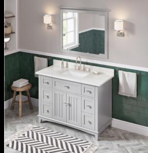 image of NEW Jeffrey Alexander Vanity Program bathroom vanity in grey on wasalesreps.com by Wright Associates Southeaster Sales Reps